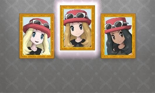 pokemon x y customisation personnage féminin personnalisation fille