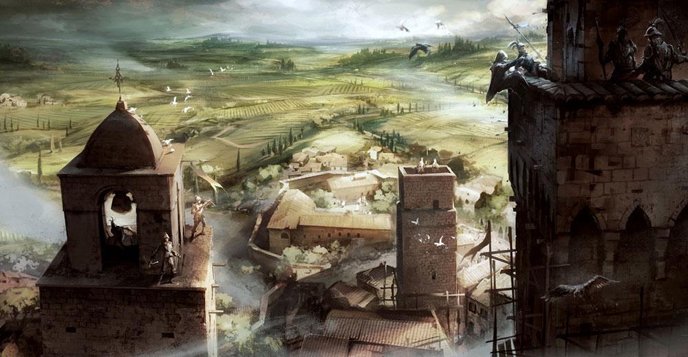 san gimignano italie assassin's creed 2