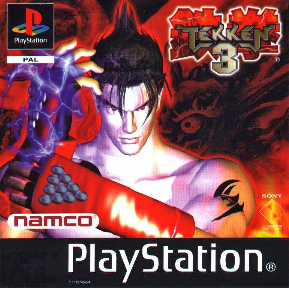 jaquette tekken 3 playstation ps1 jin kazama