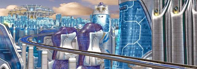 Final Fantasy VIII ville Esthar