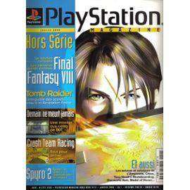 la geek en rose TFGA playstation magazine ffVIII