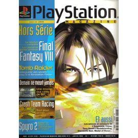 la geek en rose TFGA playstation magazine ffVIII