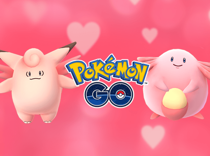 pokemon go saint valentin