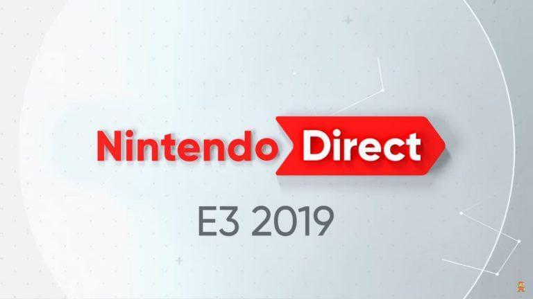 Nintendo Direct E3 2019 annonces jeux vidéo