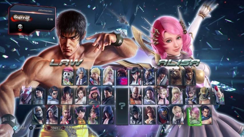 roster Tekken 7