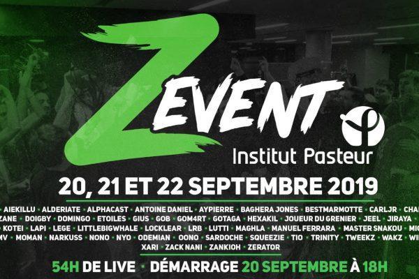 Z Event, LE live marathon humaniste !