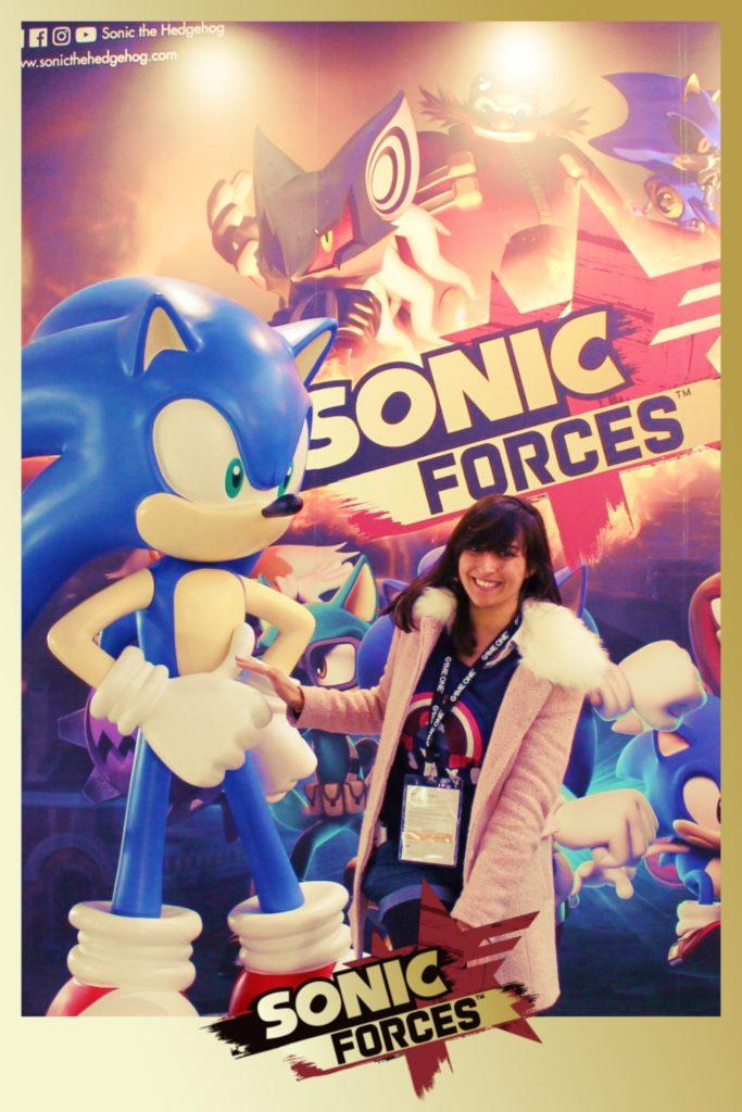 La Geek En Rose Sonic Forces à la Paris Games Week 2017