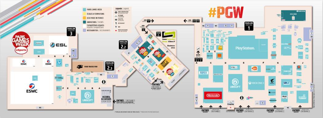 Paris Games Week 2017 PGW Plan