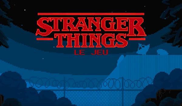 STRANGER THINGS, le jeu revival des années 80 sur iPhone !