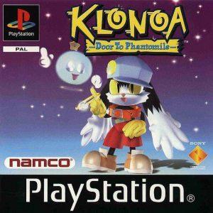 klonoa door to phantomile huepow test la geek en rose jacquette europe jeu de plateforme namco playstation