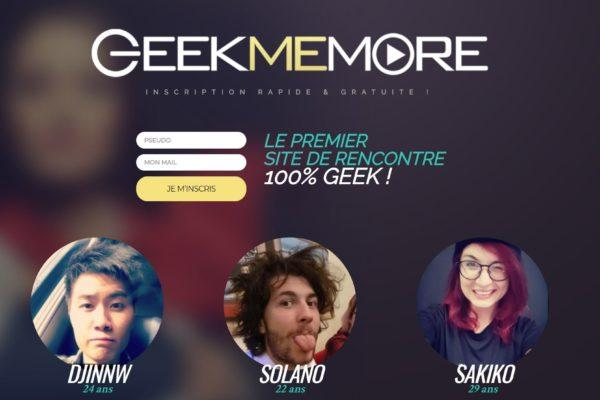 GEEKMEMORE, L'Amour Tout Geek !