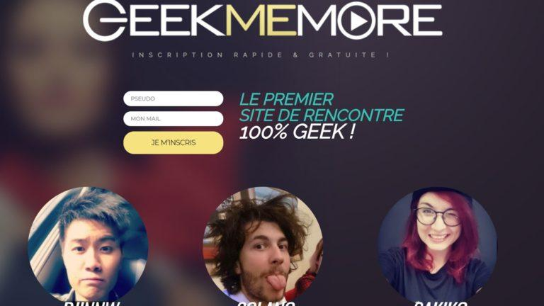 Accueil GeekMeMore Geek Me More Site de Rencontre