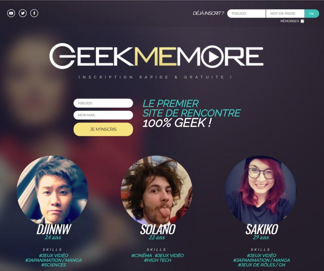 Site de rencontre geek