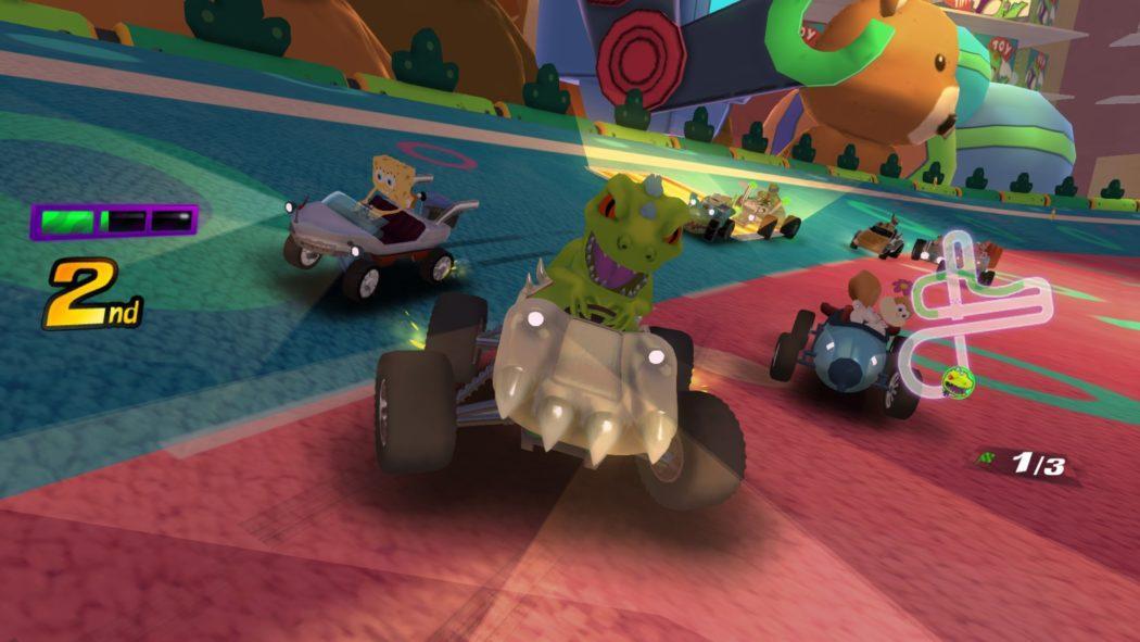Nickelodeon Kart Racers_Reptar_Front jeu de course karting Bamtang studio Just For Games