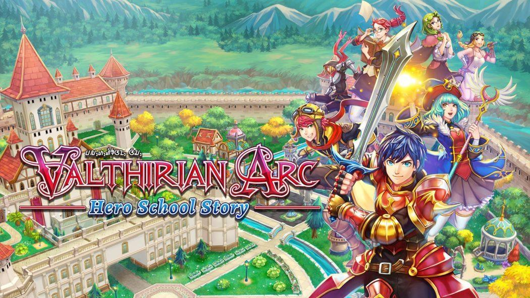 Valthirian Arc jeu de simulation rpg école de héros