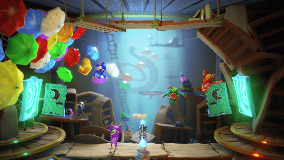 Chimparty, party-game et singes stylés