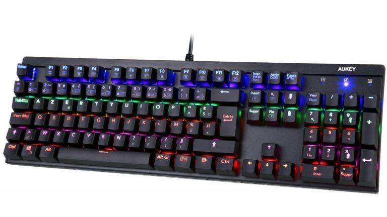 Clavier KM-G6 AUKEY, le clavier gamer arc-en-ciel  !