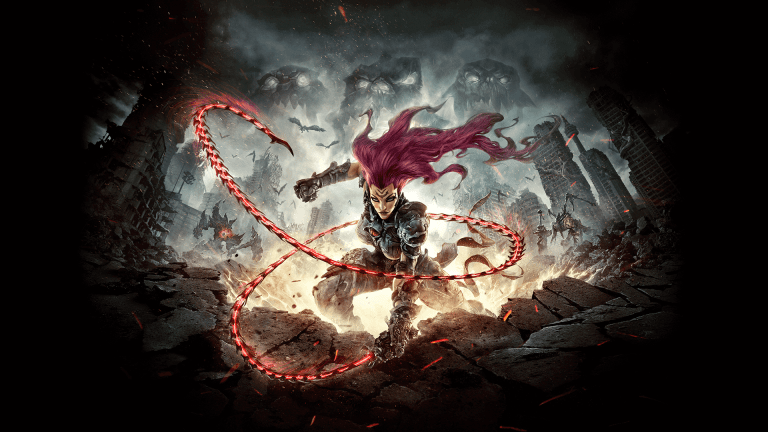 Fury Darksiders 3  redhead videogame character adventure game jeu daventure post apocalyspe PS4 Xbox One PC