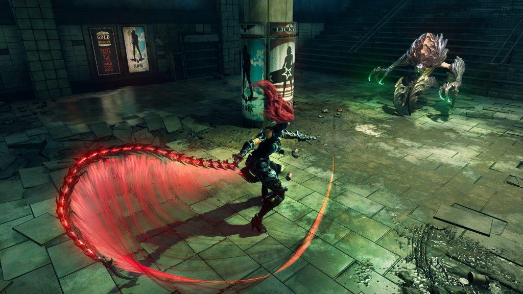 Fury combat _ Darksiders 3_ redhead videogame character adventure game jeu d'aventure post apocalyspe PS4 Xbox One PC