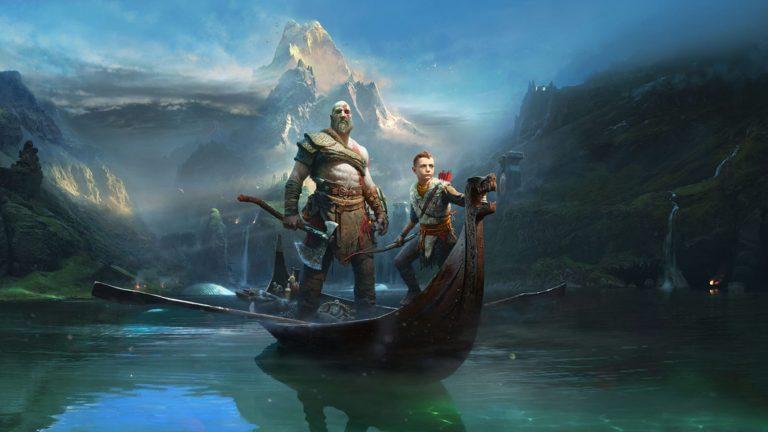 God Of War 2018 Playstation 4 Kratos Atreus Voyage Midgard