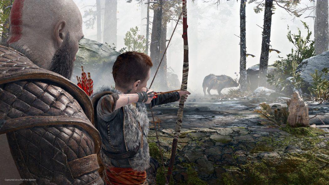 God Of War Chasse Hunt Atreus Kratos