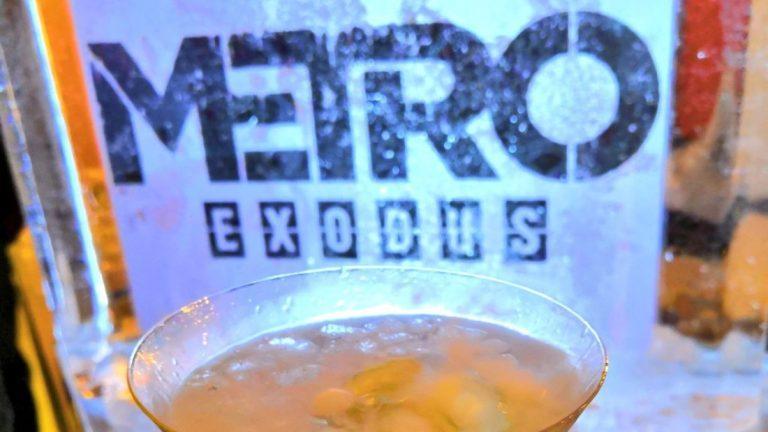 KDAY 2019 Koch Media Metro Exodus sculpture de glace Ice And Art cocktail vodka