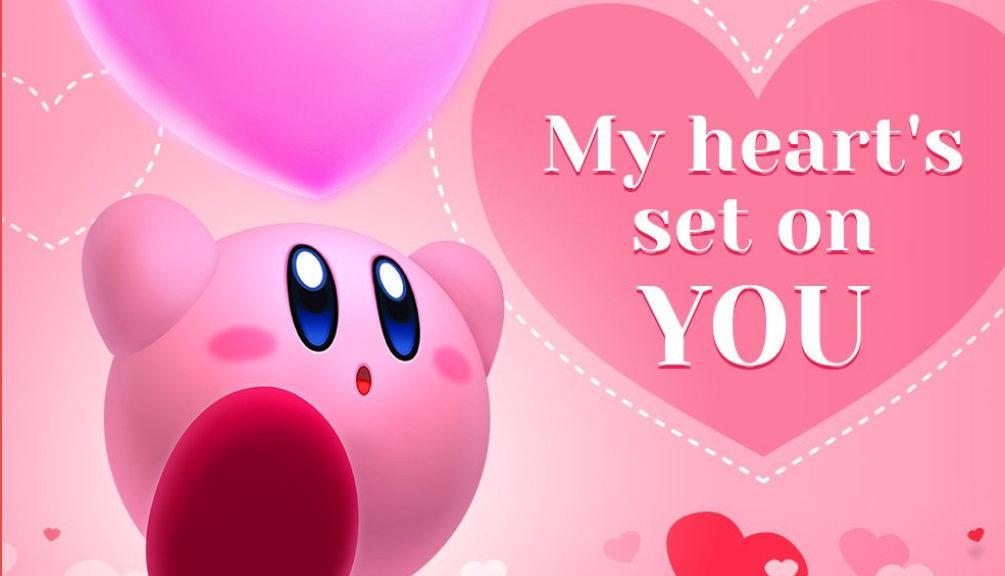 Kirby Valentine's Day Saint Valentin