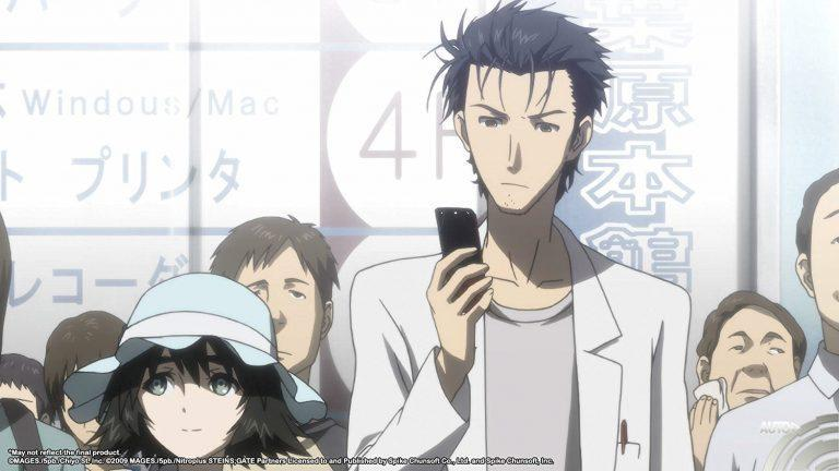 Steins; Gate Elite Okabe Rintaro visual novel aventure playstation nintendo koch media