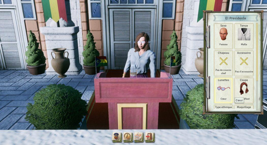 Tropico 6 création El Presidente En Rose Kalypso AK&CO jeu de gestion simulation dictature
