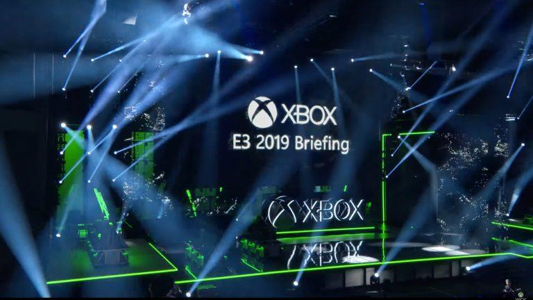 Briefing microsoft xbox e3 2019 résumé annonces gamepass xcloud project scarlett