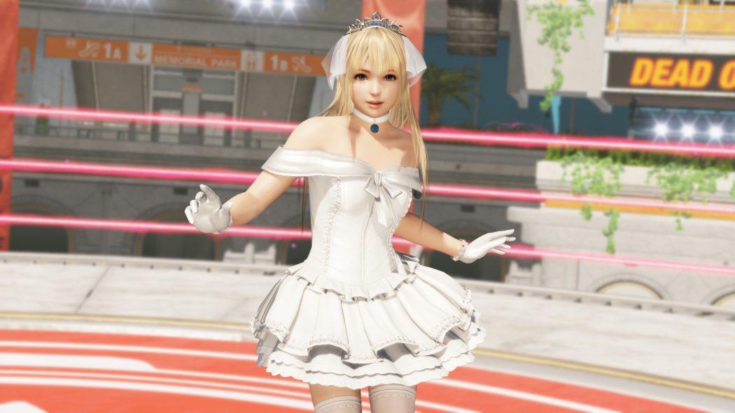 Dead Or Alive 6 Marie Rose mariée bride costume jeu de combat baston vs fighting Koch Media Koei Tecmo Ninja Team PS4 Xbox One Steam