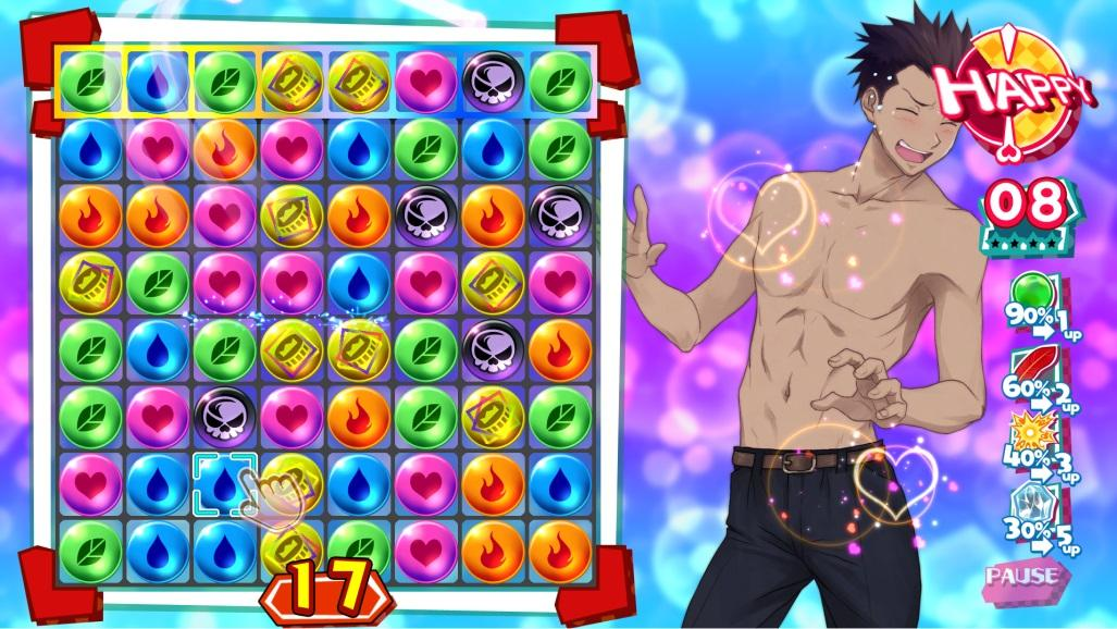 Kotodama The 7 Mysteries of Fujisawa mach 3 puzzle game Shuji