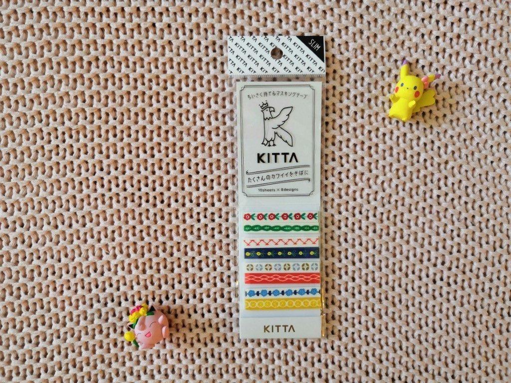 Box ZenPop Retour école Septembre 2019 Kawaii Box Papeterie Back To School Masking Tape Kitta