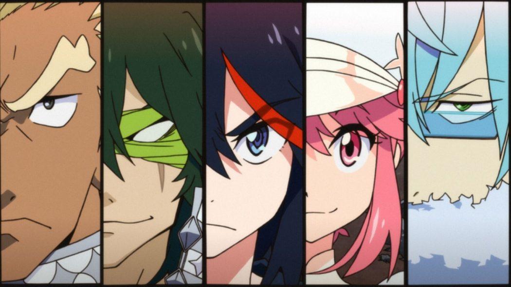 Kill la Kill If jeu de combat vs fighting personnages characters roster