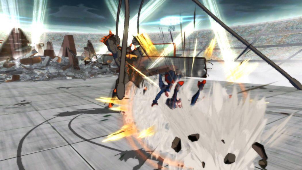 Kill la Kill If jeu de combat vs fighting personnages Ryuko vs robot