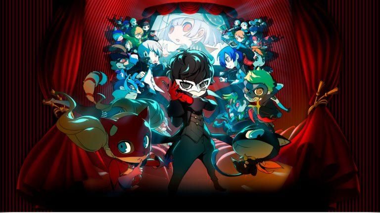 Persona Q2 New Cinema Labyrinth Nintendo 3DS RPG Artwork