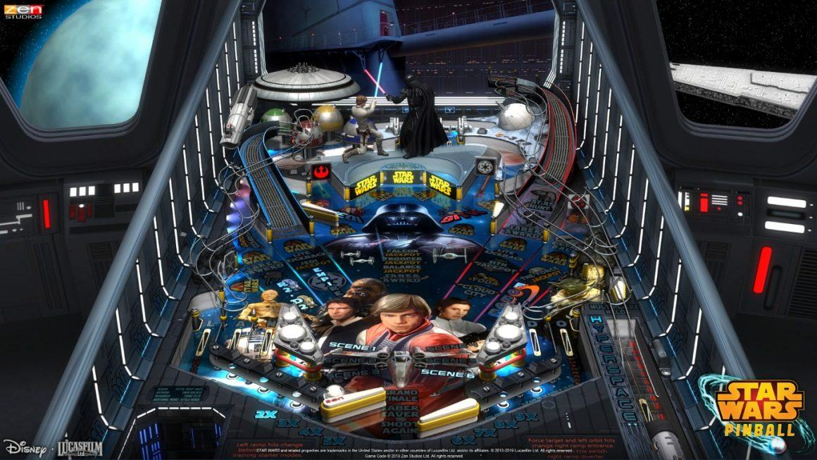 Star Wars Pinball, la Force se réveille sur Nintendo Switch !