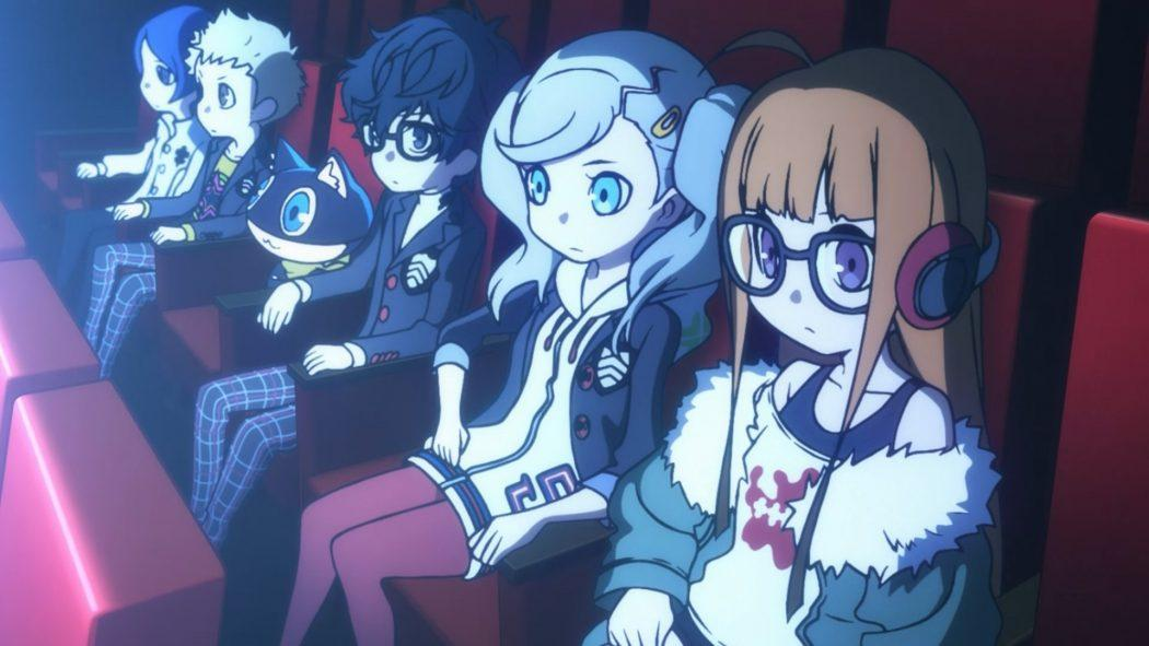 Persona Q2 New Cinema Labyrinth RPG Nintendo 3DS Battle Combat Films Movies