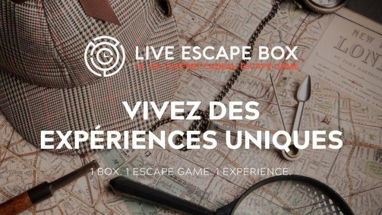 Live Escape Box coffret cadeau escape room réalité virtuelle VR scaled
