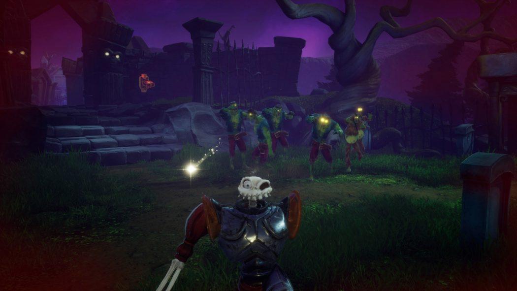 medievil remake ps4 combat zombies monstres