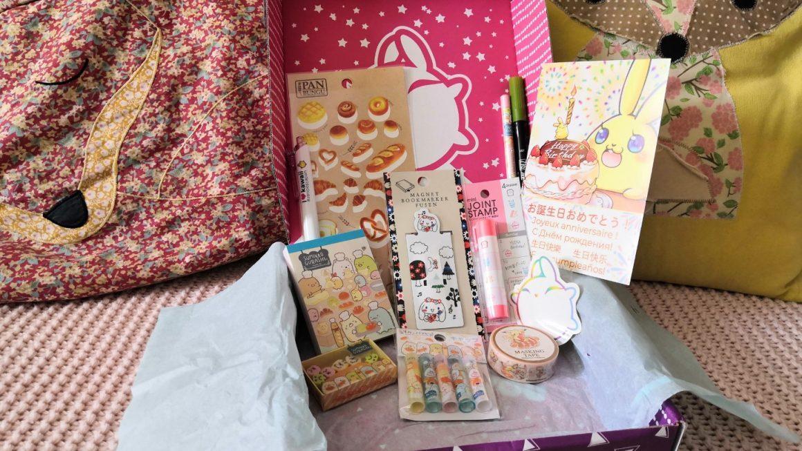 Zenpop Sumikko Bakery, la box papeterie gourmande !