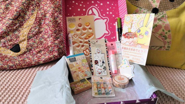 zenpop boulangerie de Sumikko novembre 2019 Kawaii Box Papeterie Sumikko Bakery