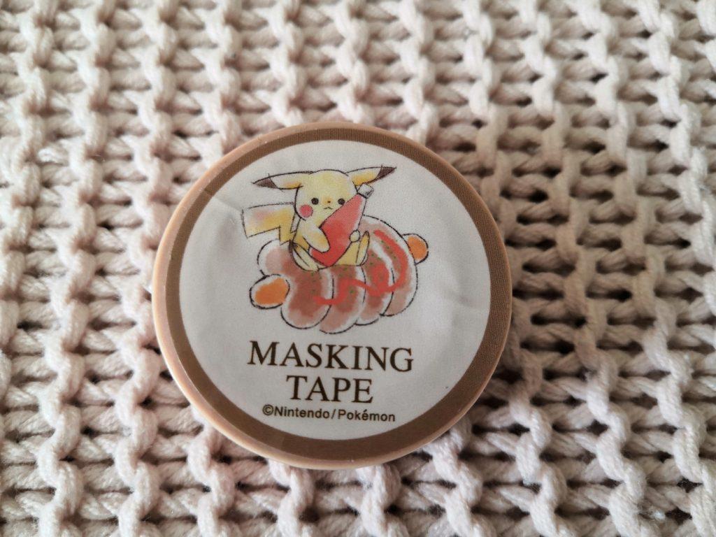 zenpop boulangerie de Sumikko novembre 2019 Kawaii Box Papeterie bullet journal bujo Masking Tape Pikachu