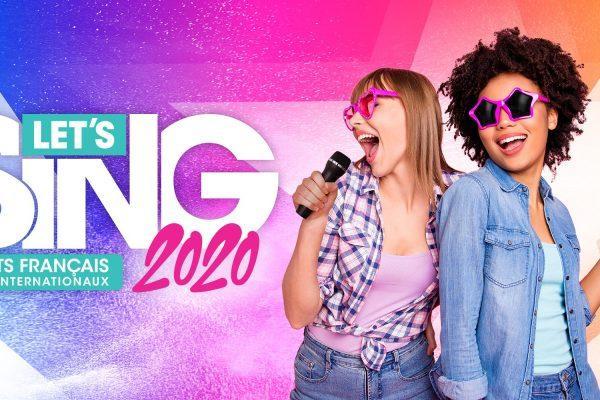 Let's Sing 2020 Hits Français et Internationaux réveille le chanteur en vous !