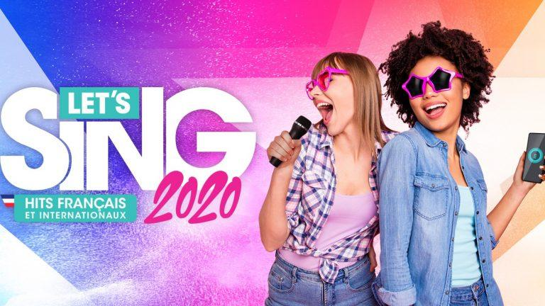 Lets Sing 2020 Hits Français et Internationaux Cover scaled