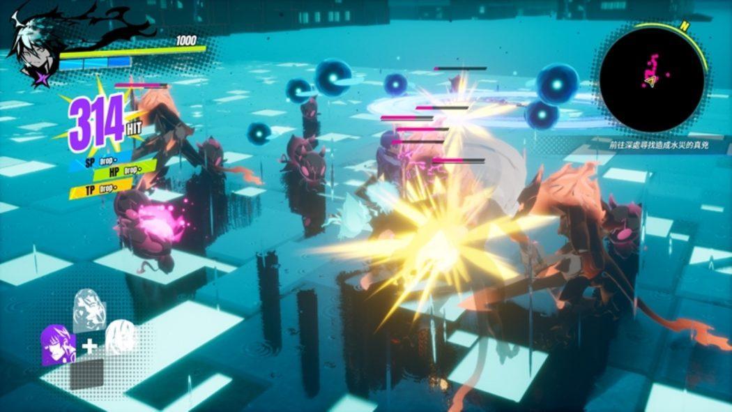 Dusk Diver battle fight combat