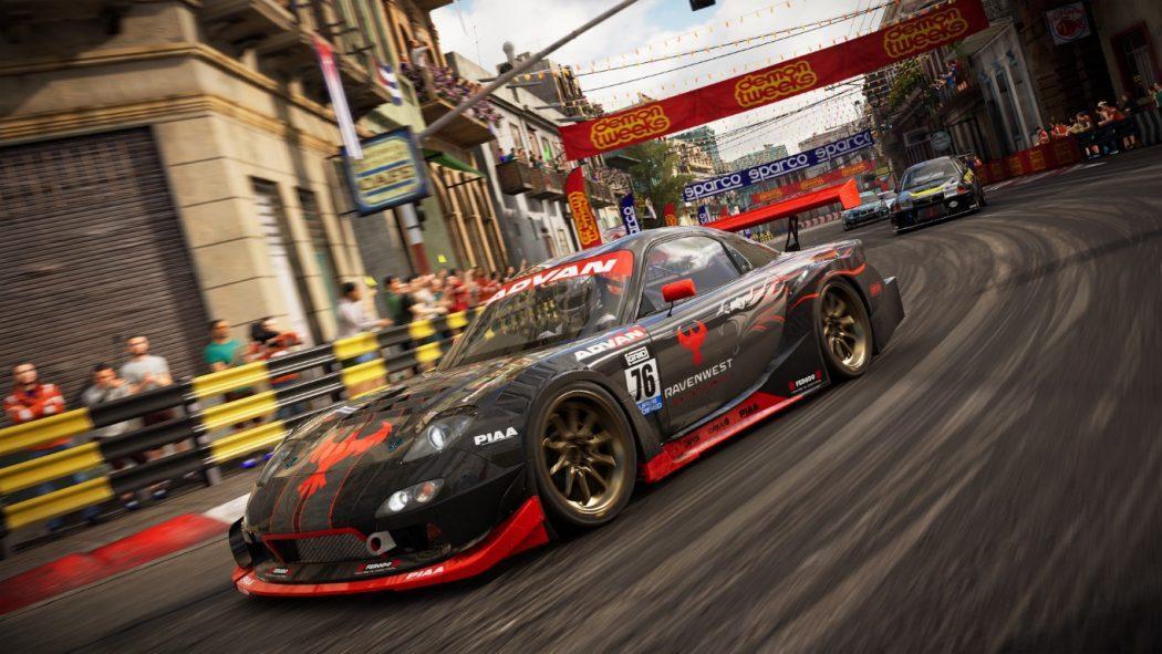GRID Tuner Havana Day Ravenwest Motosport jeu de course simulation arcade Toca Touring Car Championship