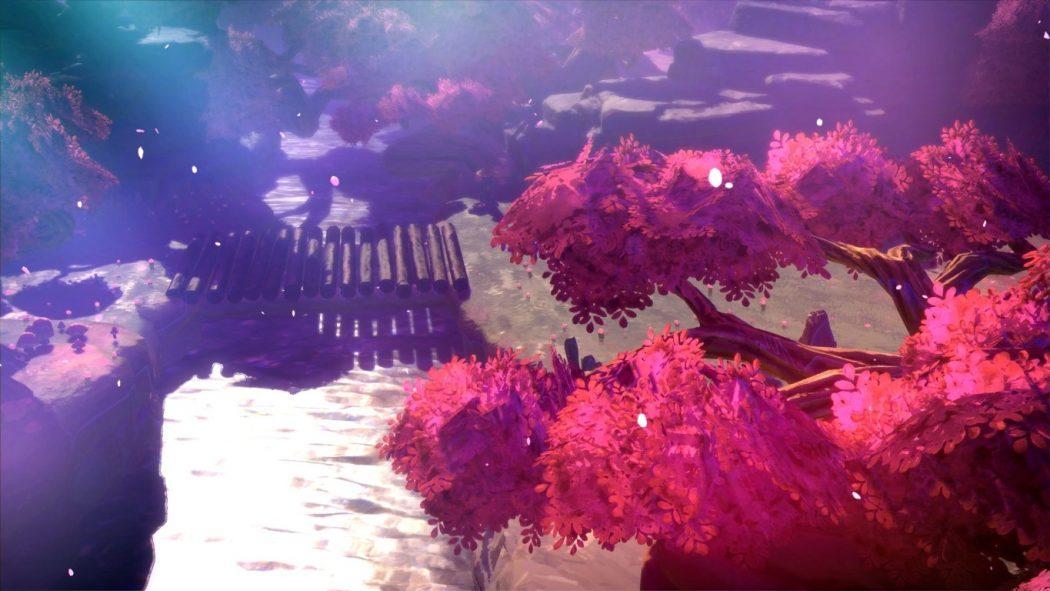 Oninaki action rpg square enix fleurs de cerisier