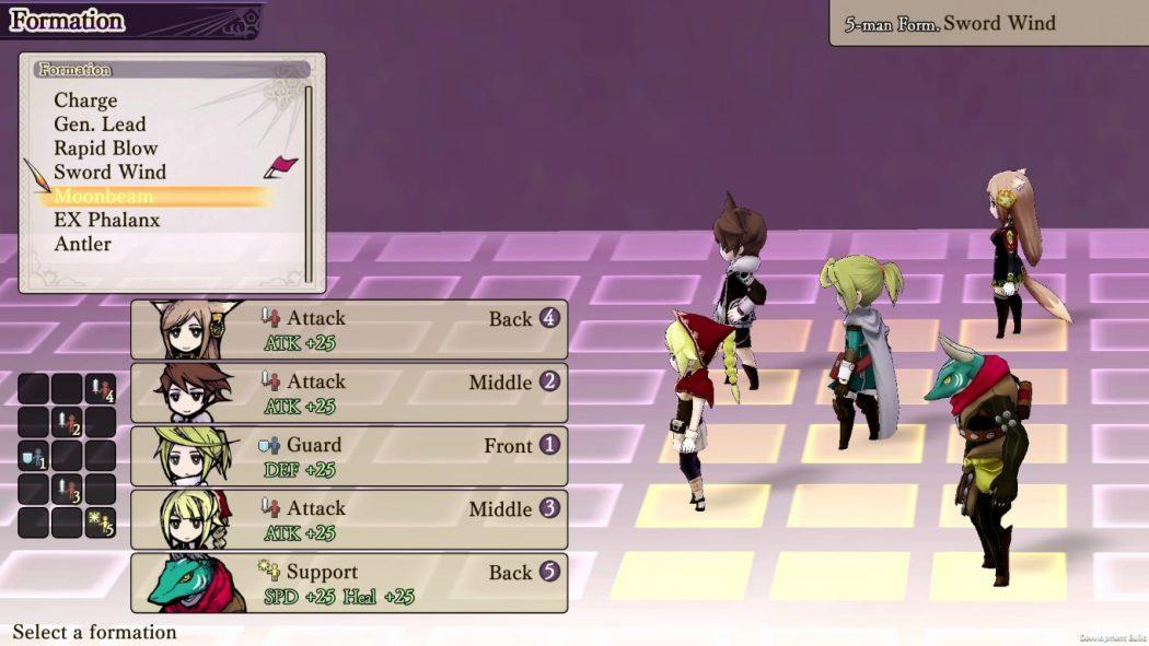 The Alliance Alive HD Remastered combat attaque attack fight