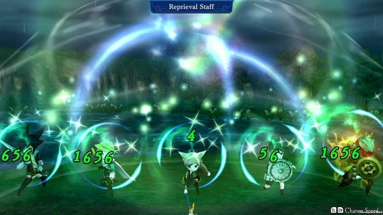 The Alliance Alive HD Remastered combat soins